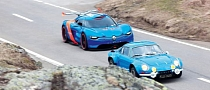 Renault Alpine A110-50 Concept vs Original Alpine A110 [Photo Gallery]
