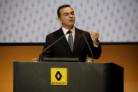 Renault's CEO Carlos Ghosn