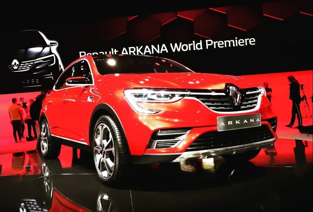 Renault Arkana Coupe-Crossover Unveiled In Russia