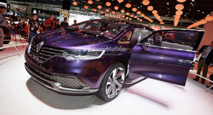 Renault At Paris 2014 New Espace And Dacia Lodgy Amp Dokker