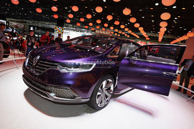 Renault At Paris 2014 New Espace And Dacia Lodgy Amp Dokker