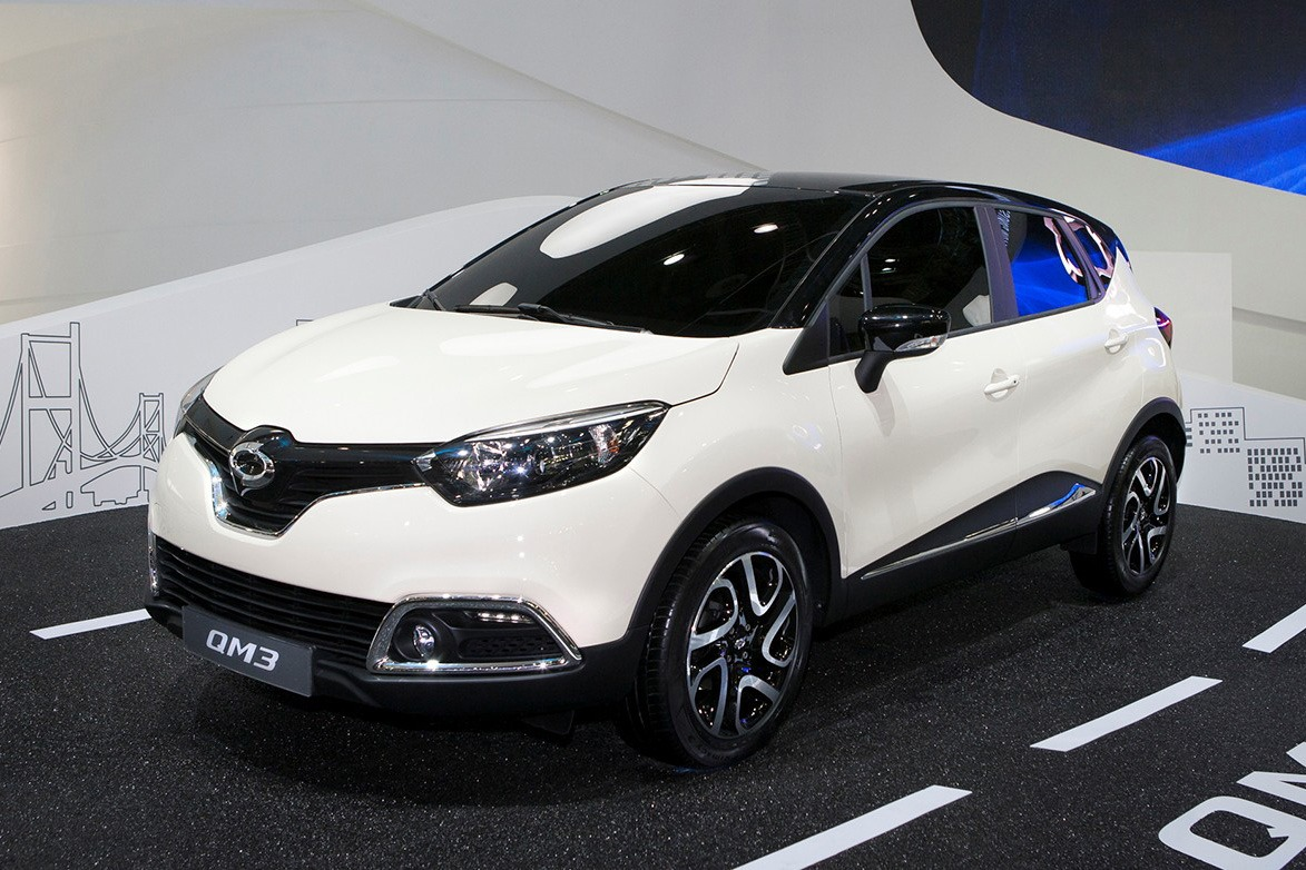 renault captur becomes samsung qm3 in korea autoevolution. Black Bedroom Furniture Sets. Home Design Ideas