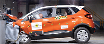 Renault Captur Receives 5-Star Euro NCAP Rating [Video]