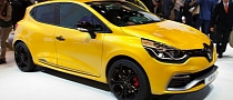 Renault Clio 4 RS 200 Scooped in Paris [Photo Gallery]