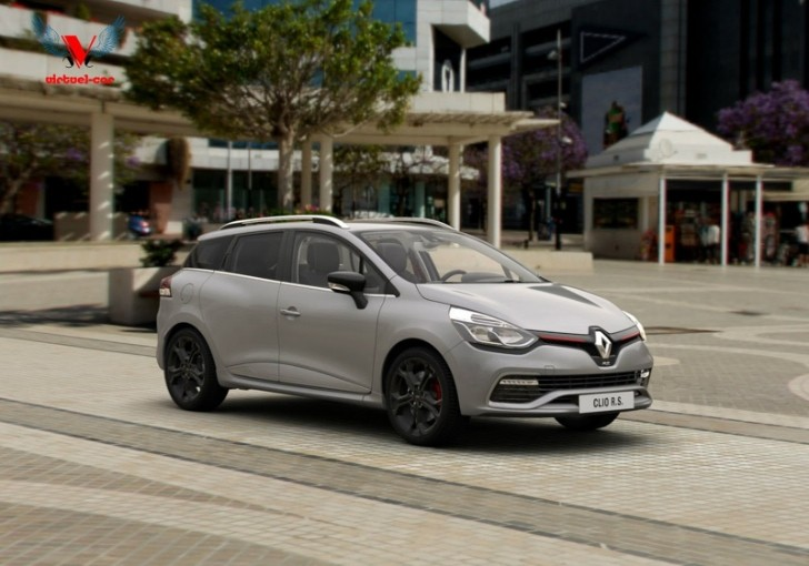Renault Clio Estate RS 200 EDC Rendering