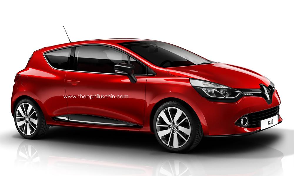 Renault clio iv 3 door autoevolution
