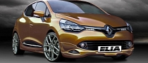 Renault Clio IV Tuning by Elia Teased