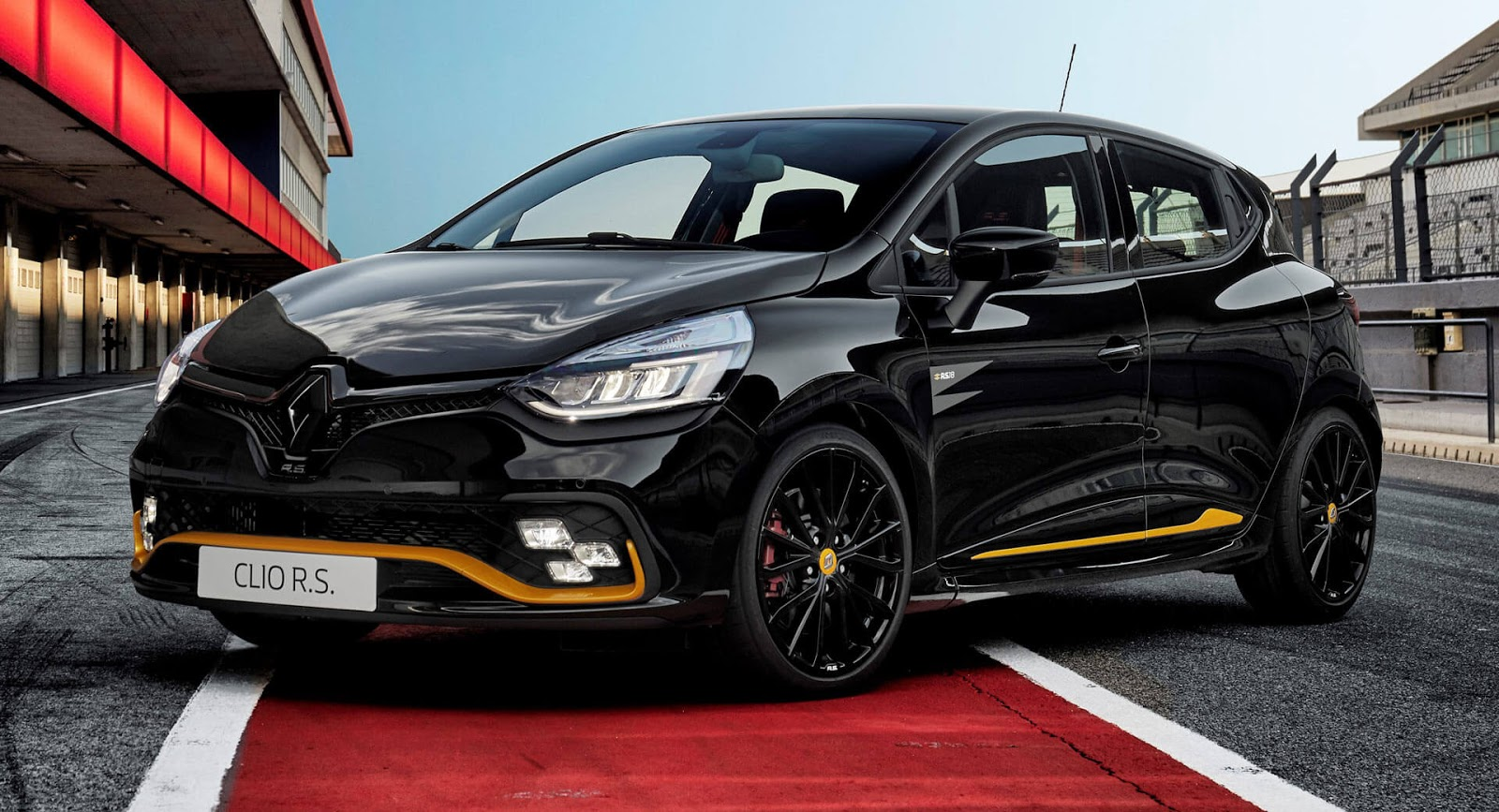 renault clio r s 18 adds f1 theme for special edition. Black Bedroom Furniture Sets. Home Design Ideas