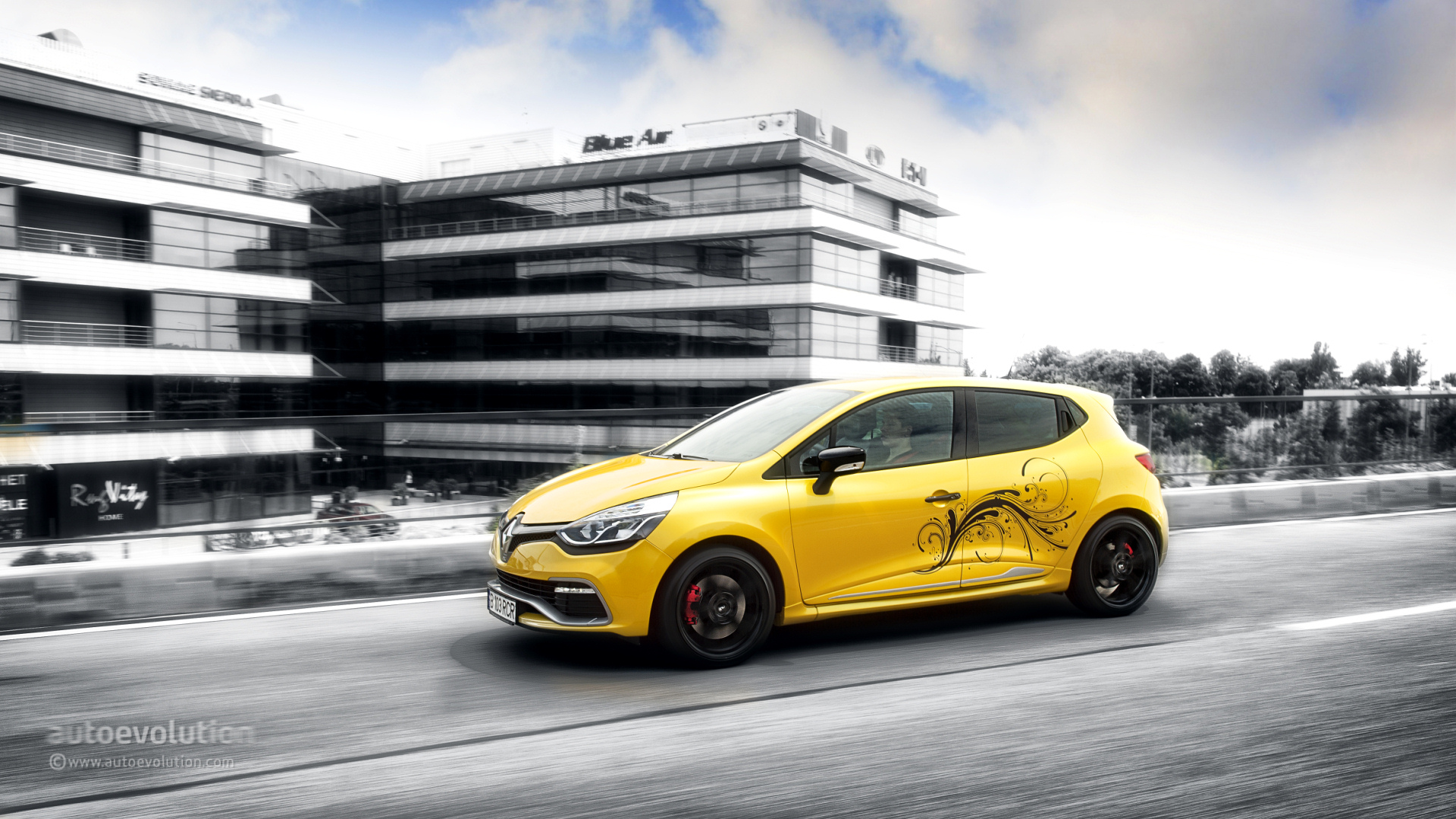 renault clio rs 200 turbo hd wallpapers autoevolution. Black Bedroom Furniture Sets. Home Design Ideas