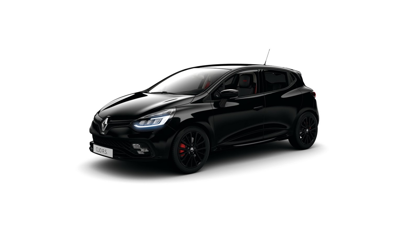 renault clio rs gets black edition pack looks like mini darth vader autoevolution. Black Bedroom Furniture Sets. Home Design Ideas