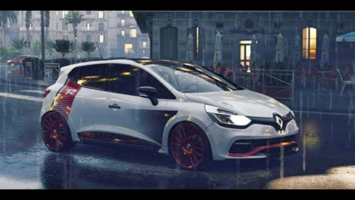 renault clio rs trophy leaked prior to geneva motor show. Black Bedroom Furniture Sets. Home Design Ideas