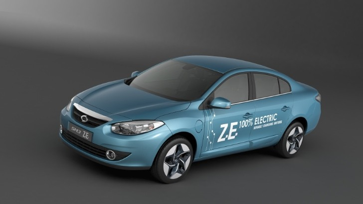 renault fluence ze is samsung sm3 ze in korea autoevolution. Black Bedroom Furniture Sets. Home Design Ideas