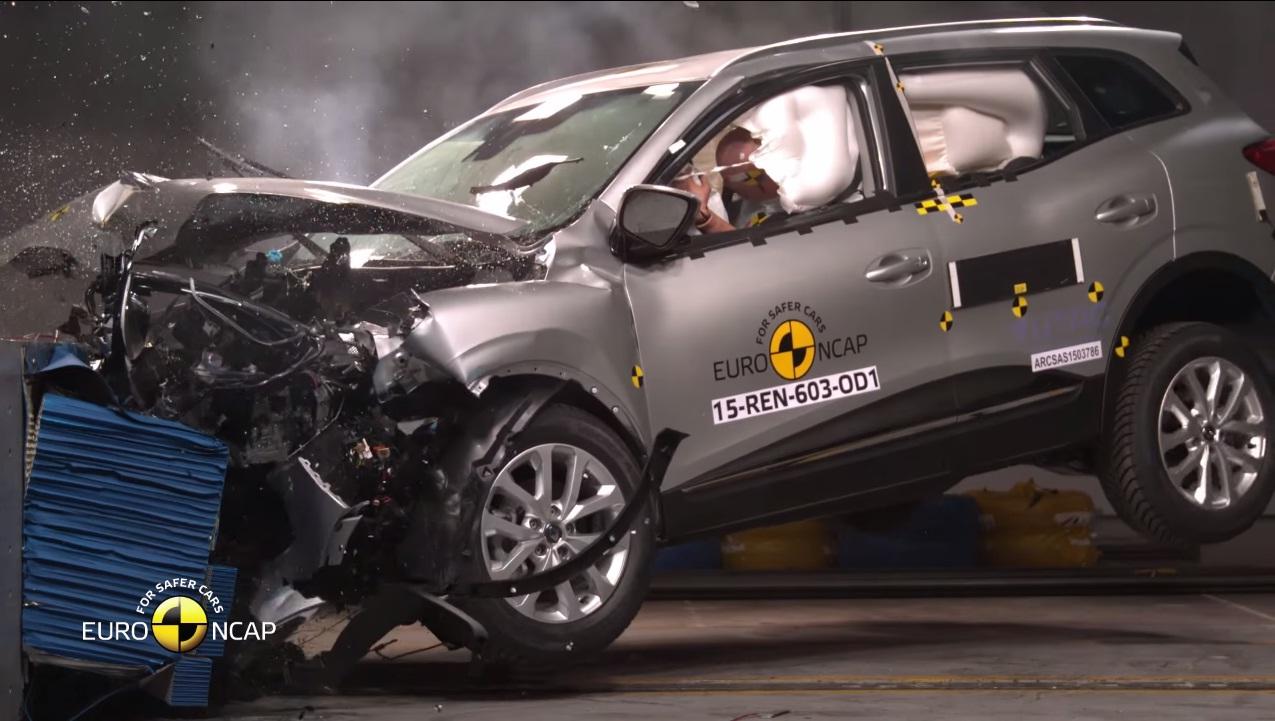 Renault Kadjar Awarded 5 Stars in Euro NCAP Crash Test - autoevolution