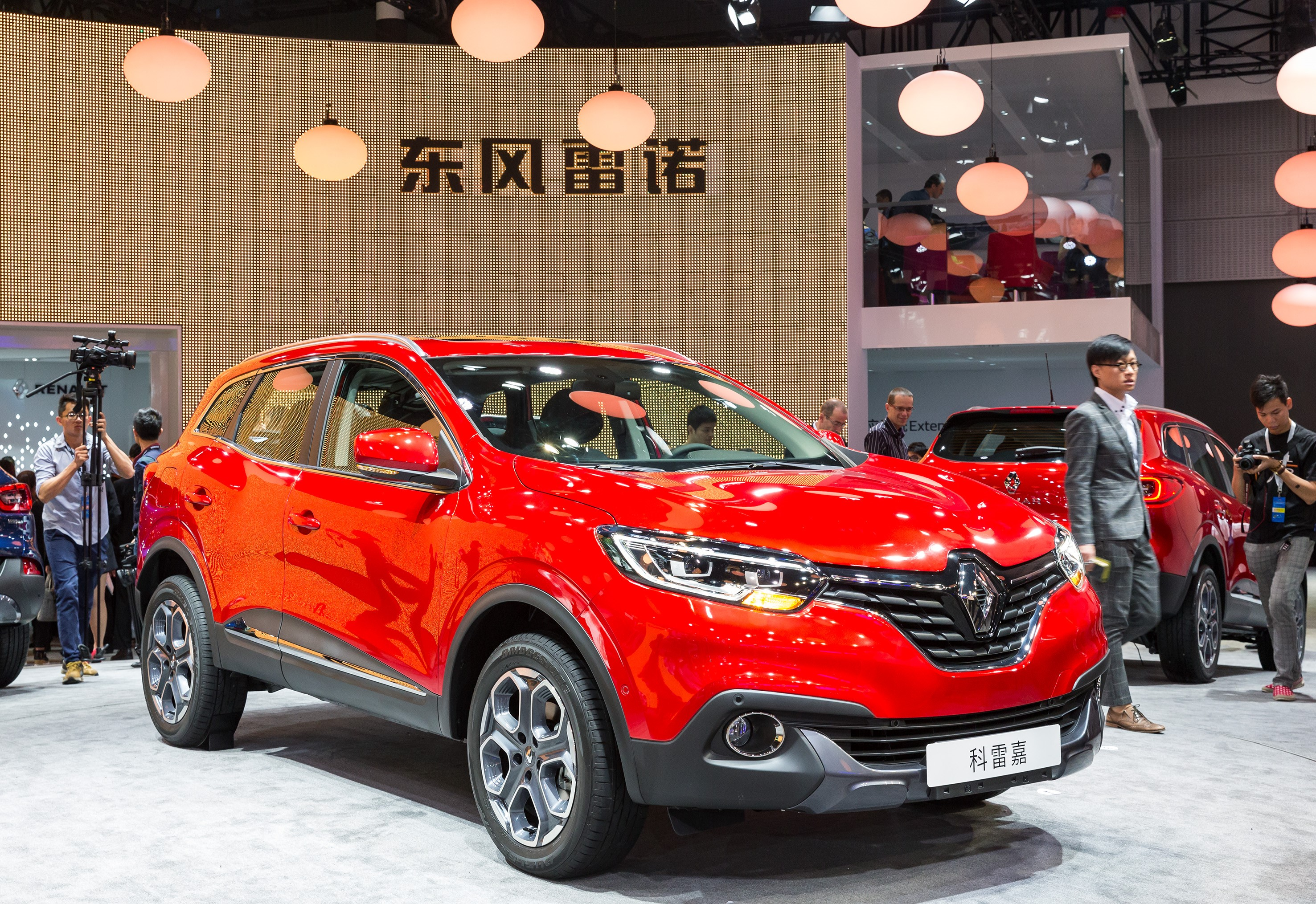 renault kadjar debuts in china as the first locally assembled suv autoevolution. Black Bedroom Furniture Sets. Home Design Ideas