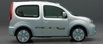 Renault Kangoo be bop Z.E. Electric Vehicle Unveiled