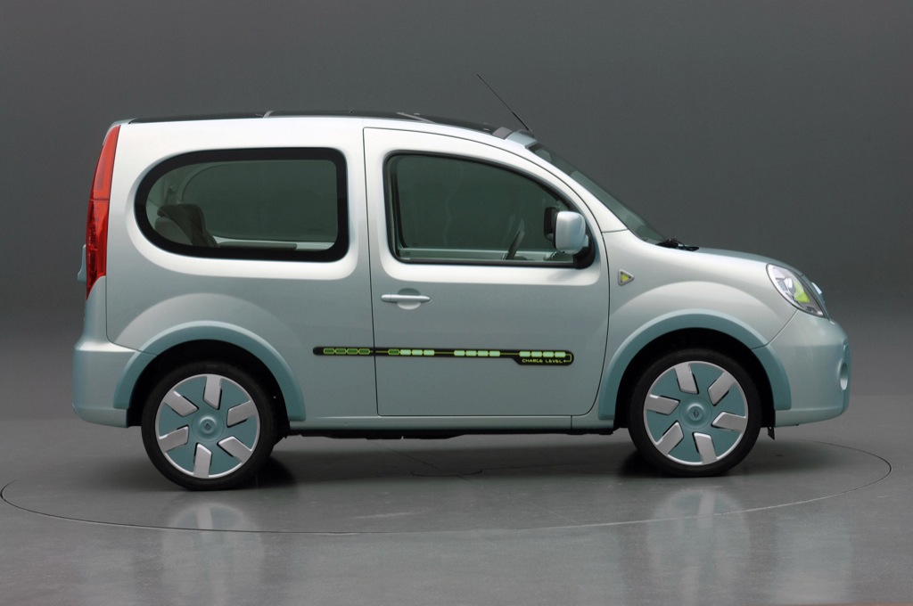renault kangoo be bop z e electric vehicle unveiled autoevolution. Black Bedroom Furniture Sets. Home Design Ideas