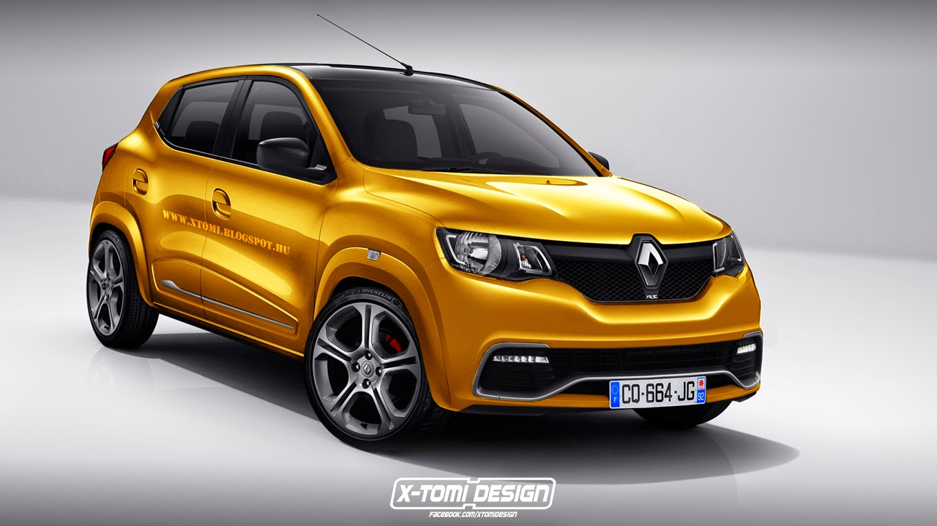 Renault Kwid Crossover Envisioned in RS Guise is an Impossible ...