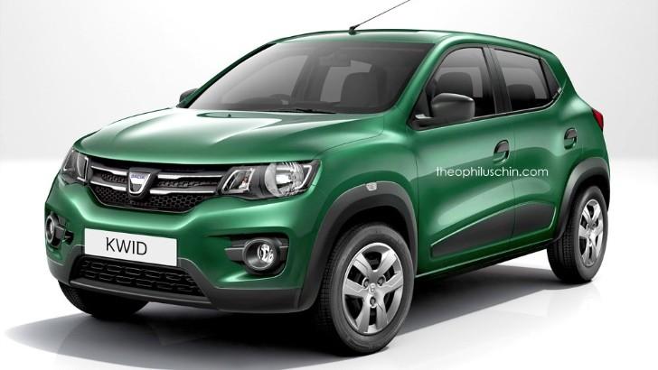 Renault Kwid Imagined As Dacia Kwid Low Cost Aura Instantly