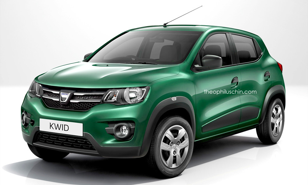 renault kwid imagined as dacia kwid low cost aura instantly surrounds the car autoevolution. Black Bedroom Furniture Sets. Home Design Ideas
