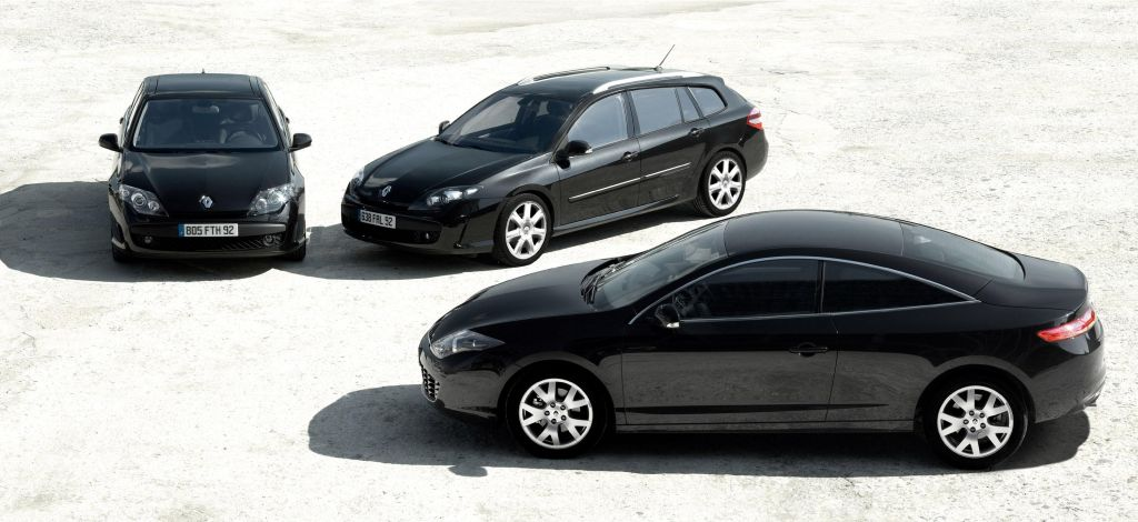 renault laguna coupe black edition revealed autoevolution. Black Bedroom Furniture Sets. Home Design Ideas
