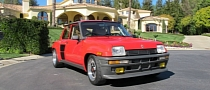 Renault R5 TURBO 2 on California Plates for Sale
