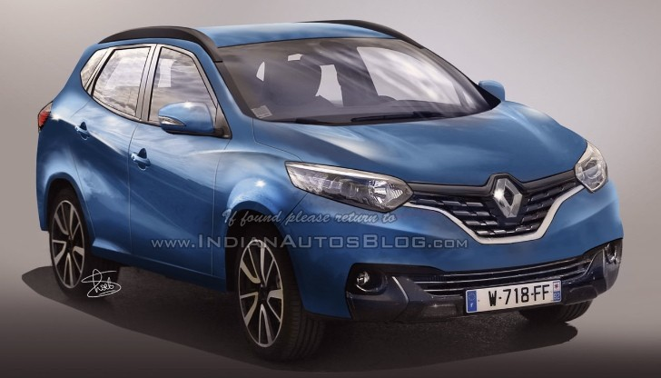 renault 39 s 2016 racoon suv could look like this autoevolution. Black Bedroom Furniture Sets. Home Design Ideas