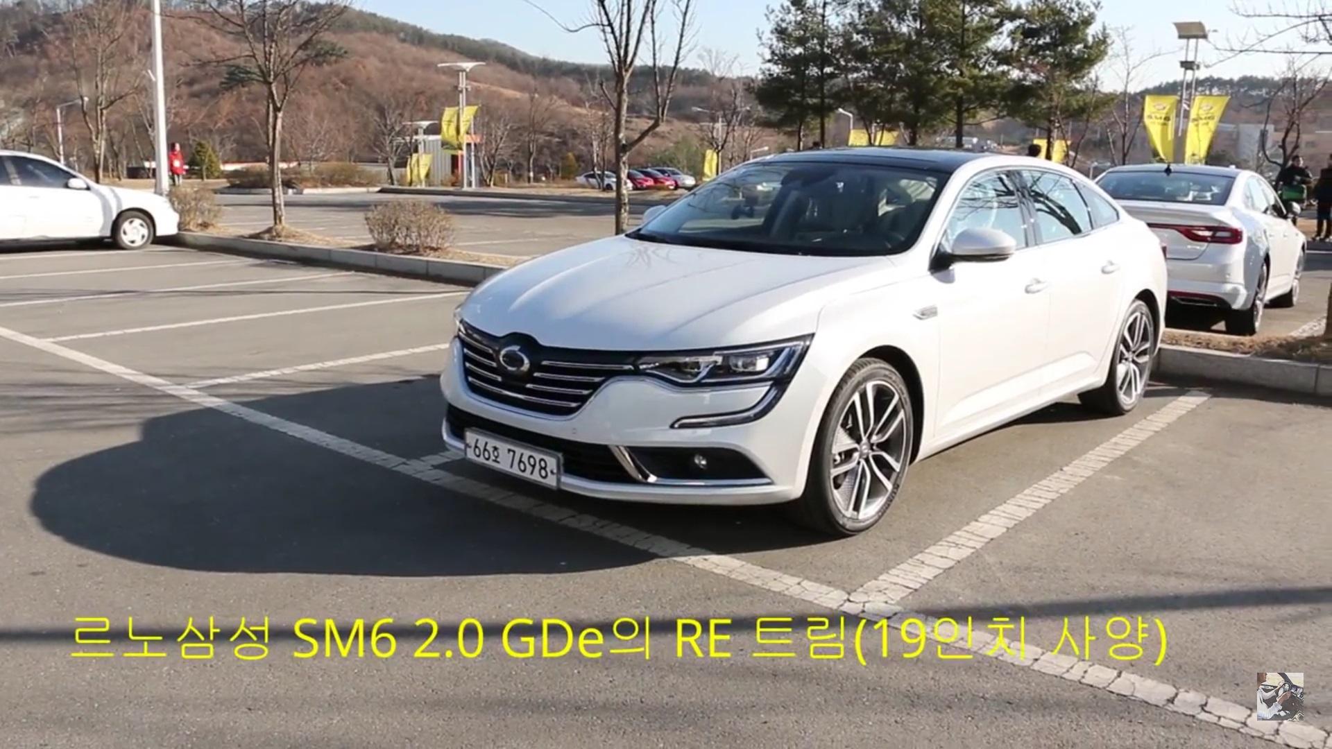 Renault Samsung Unveils Sm6 Talisman In Korea Gets 2 0