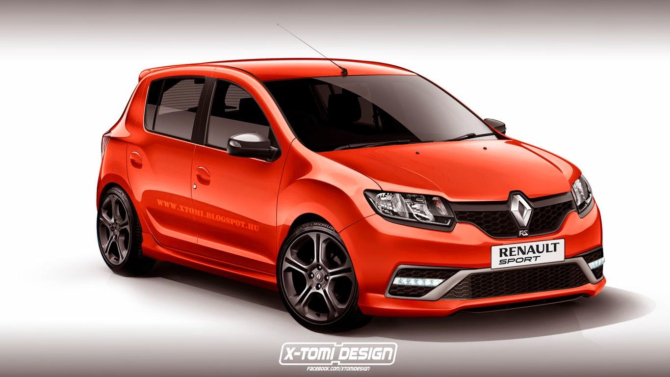 Renault Sandero Rs Rendered 150 Hp 2 Liter South