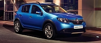Renault Sandero, Sandero Stepway Get Official [Photo Gallery]