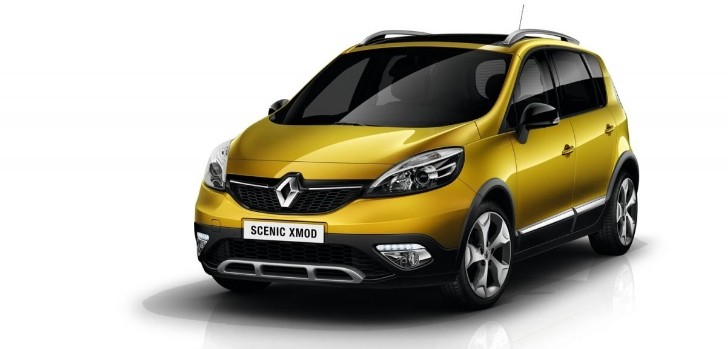 Renault Scenic XMOD Unveiled Ahead of Geneva [Photo Gallery]