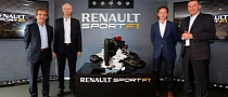 Renault Showcases New Formula One Engine [Video]