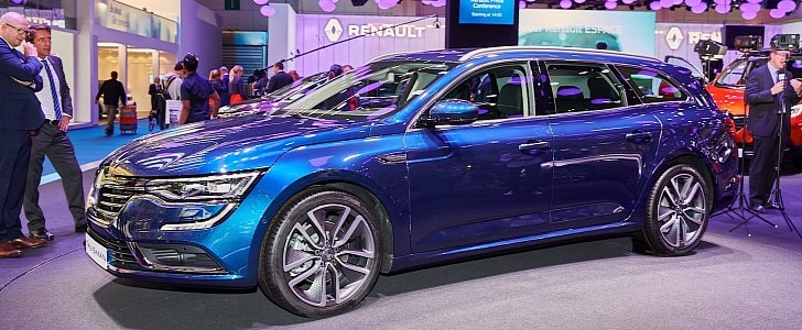 renault talisman is living proof french can do a passat too autoevolution. Black Bedroom Furniture Sets. Home Design Ideas