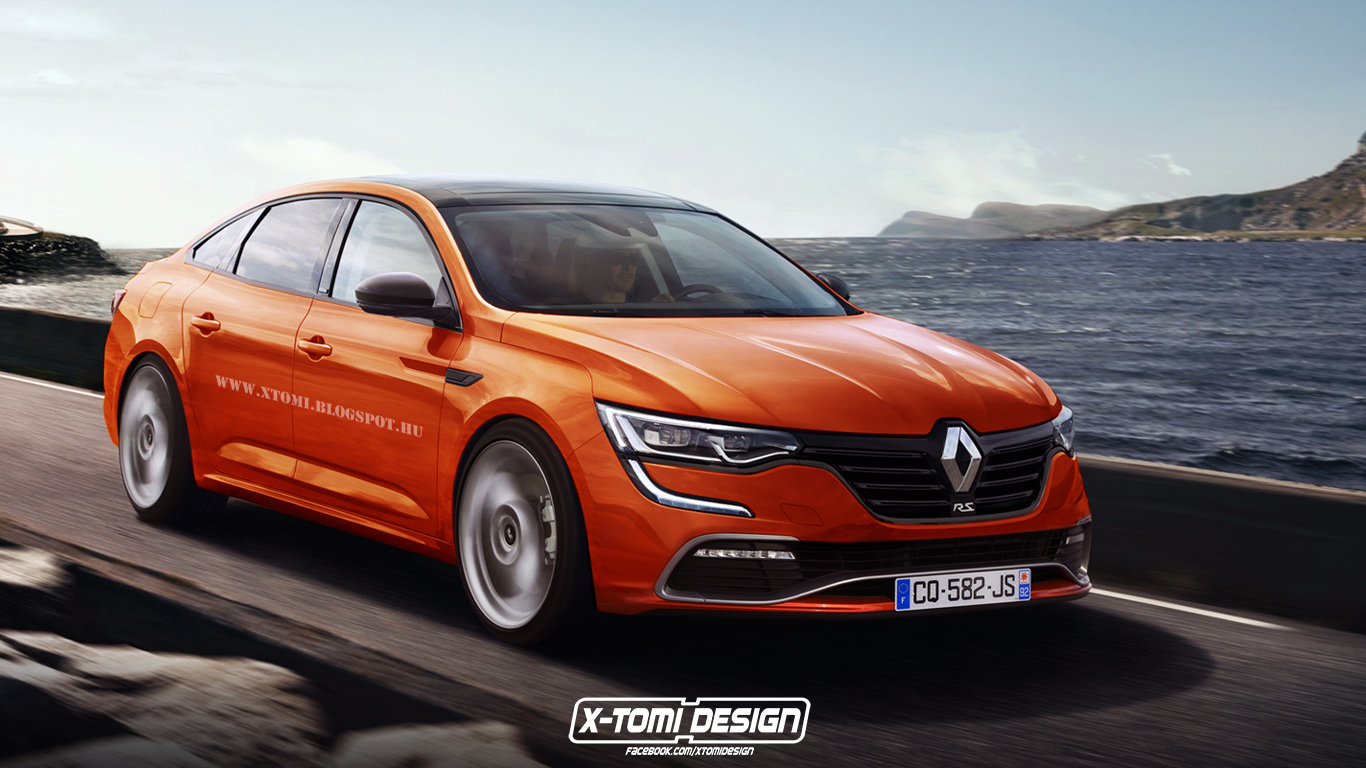 renault talisman rendered in renaultsport outfit looks meh to us autoevolution. Black Bedroom Furniture Sets. Home Design Ideas