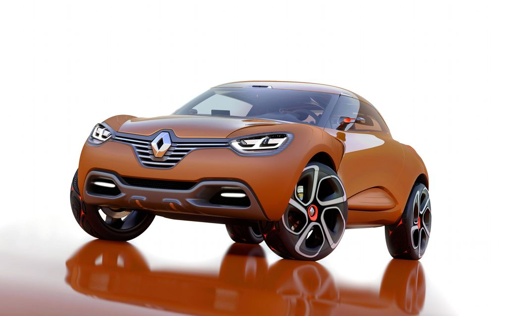 renault to launch new suv for india in 2012 autoevolution. Black Bedroom Furniture Sets. Home Design Ideas
