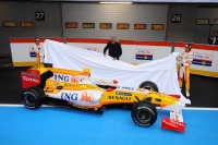 Renault unveiling their R29 car for 2009. Will it be their last?