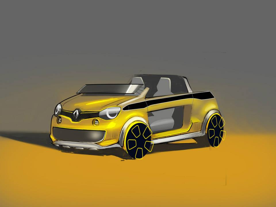 Renault TwingHot French Carmaker Designs Cool Food Car - Cool french cars