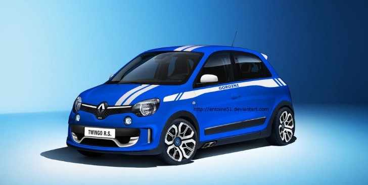 renault twingo gordini rs rendering is a homage to the past autoevolution. Black Bedroom Furniture Sets. Home Design Ideas