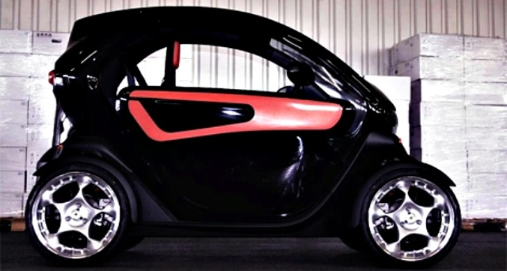 renault twizy ev to receive tuning pack by specialist