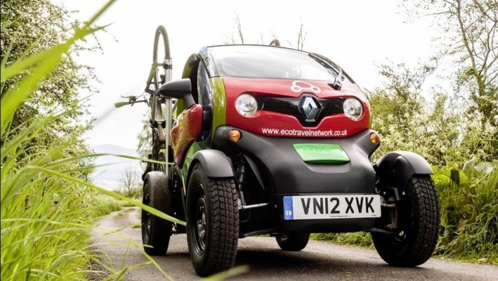 renault twizy used as off roader in brecon beacons park. Black Bedroom Furniture Sets. Home Design Ideas