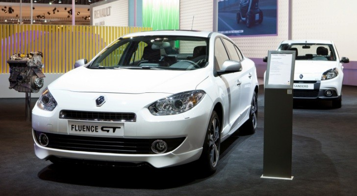 Renault Unveils Fluence GT in Sao Paulo [Photo Gallery]