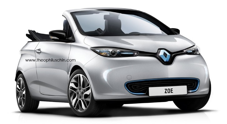 Renault Zoe Cabriolet Rendered Again - autoevolution