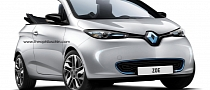 Renault Zoe Cabriolet Rendered Again
