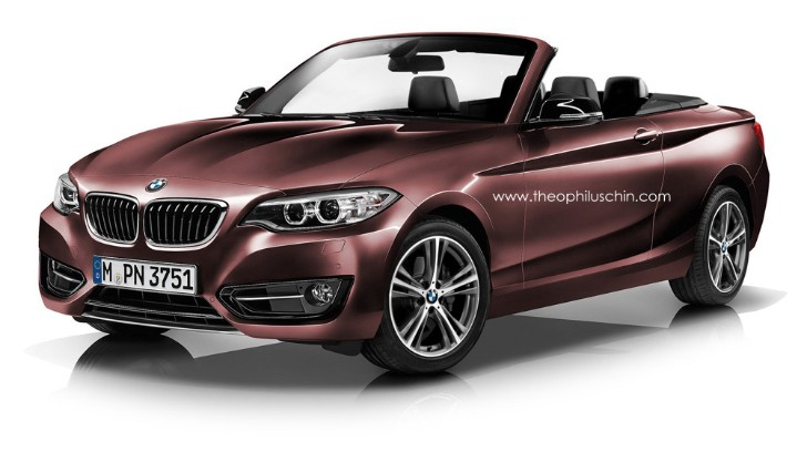 Rendering: BMW 2 Series Convertible