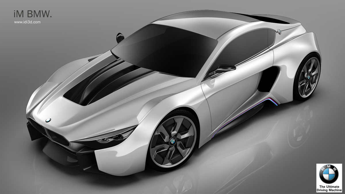 Blue Ridge Auto >> Rendering: BMW iM Looks Like an Eco-Friendly Supercar