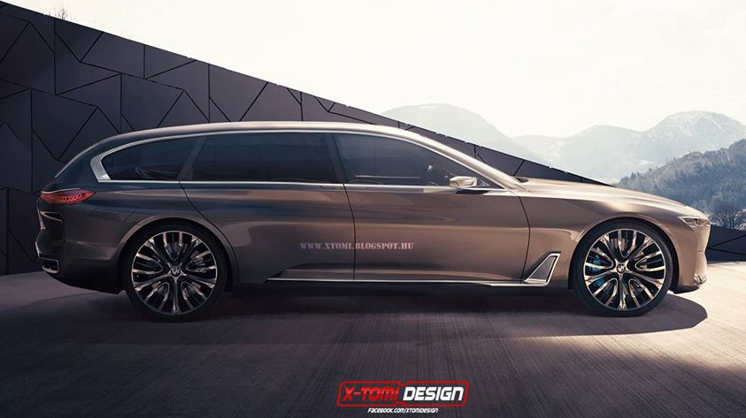 Rendering Bmw Vision Future Luxury Touring Concept