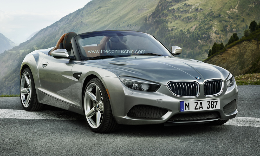 rendering bmw z2 roadster comes to life autoevolution. Black Bedroom Furniture Sets. Home Design Ideas