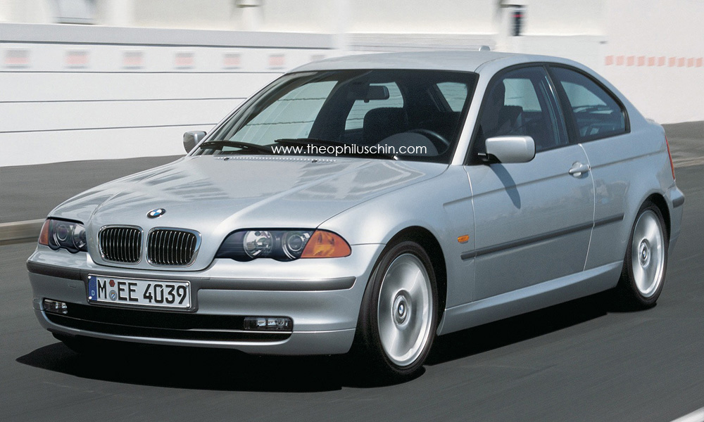 rendering facelift bmw e46 compact autoevolution. Black Bedroom Furniture Sets. Home Design Ideas