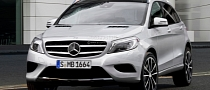 Rendering: Mercedes GLA Crossover to Rival BMW X1