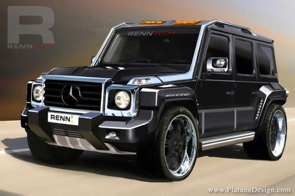 Renntech G Wagen Cdi Concept Soon To Surface Autoevolution