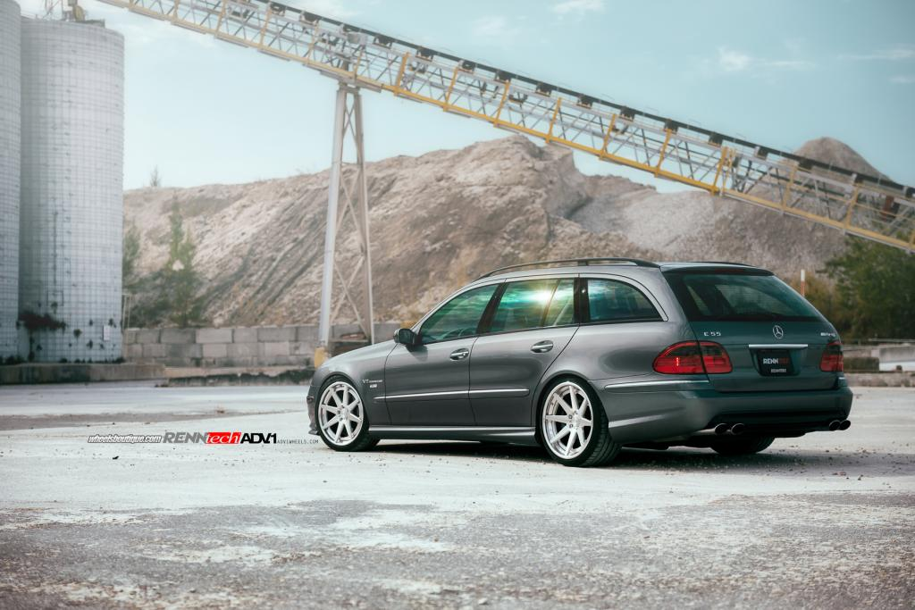 RENNtech Mercedes E55 AMG Is the Devil's Station Wagon - autoevolution